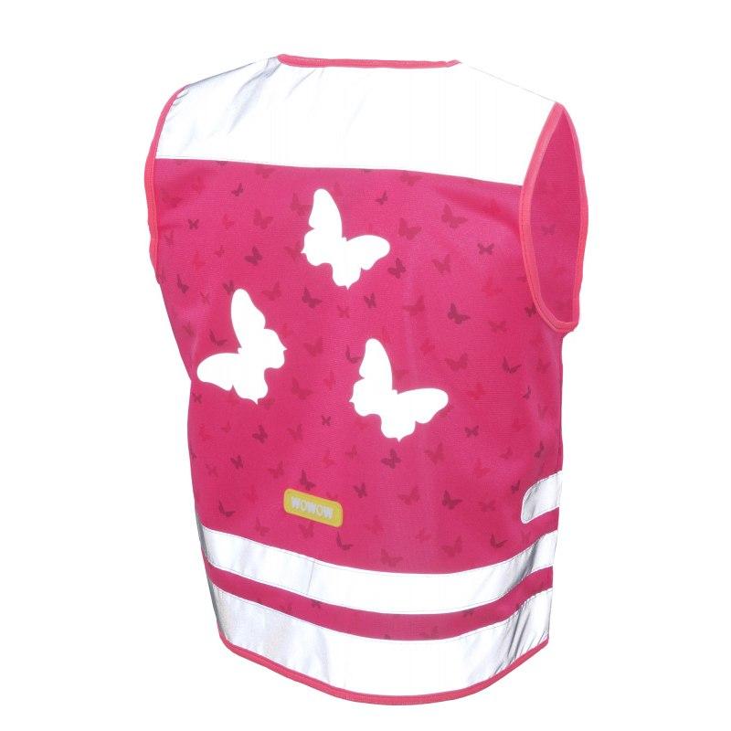 WOWOW Nutty Jacket - Sicherheitsweste für Kinder - pink