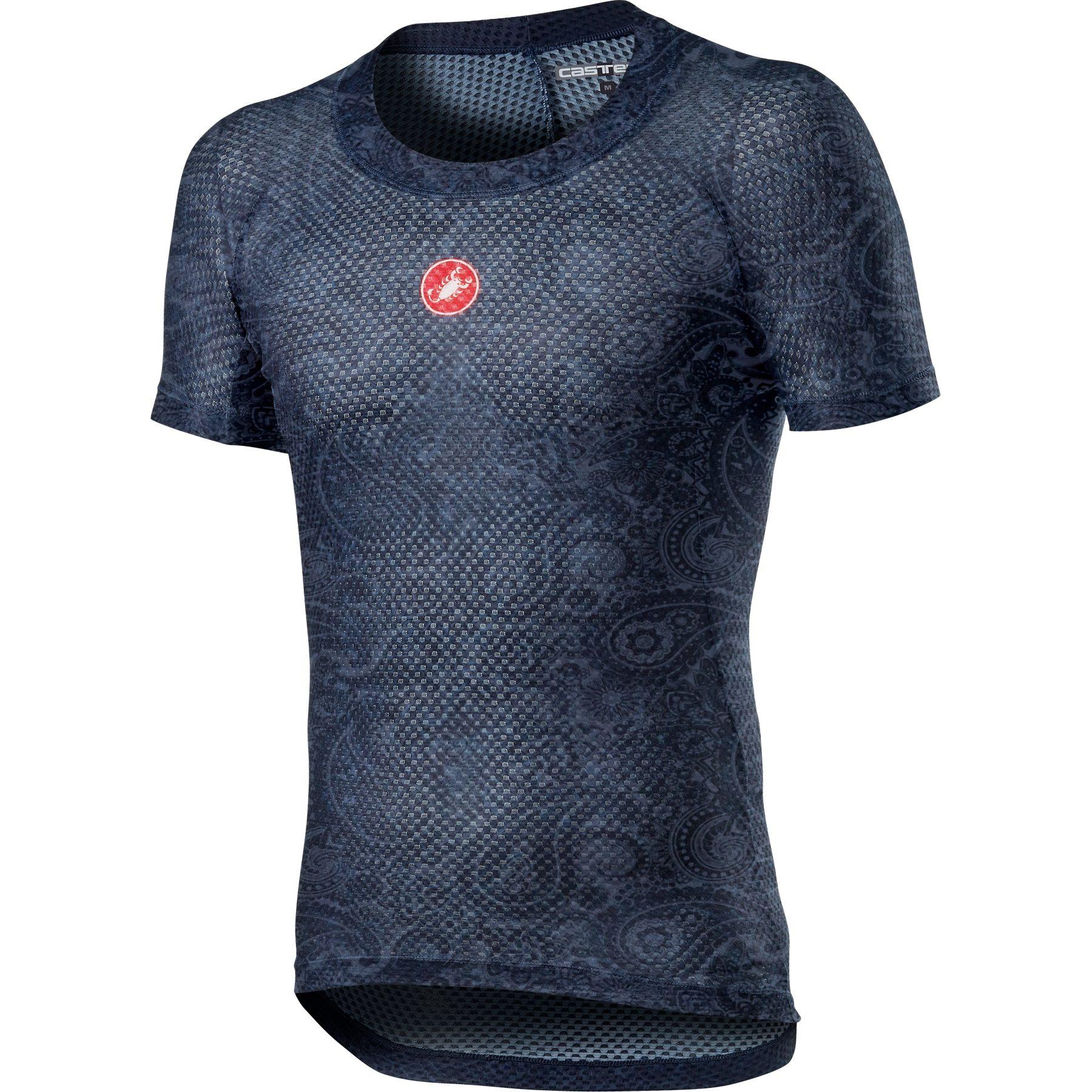 Foto de Castelli Pro Mesh M Camiseta interior de manga corta - dark steel blue 070