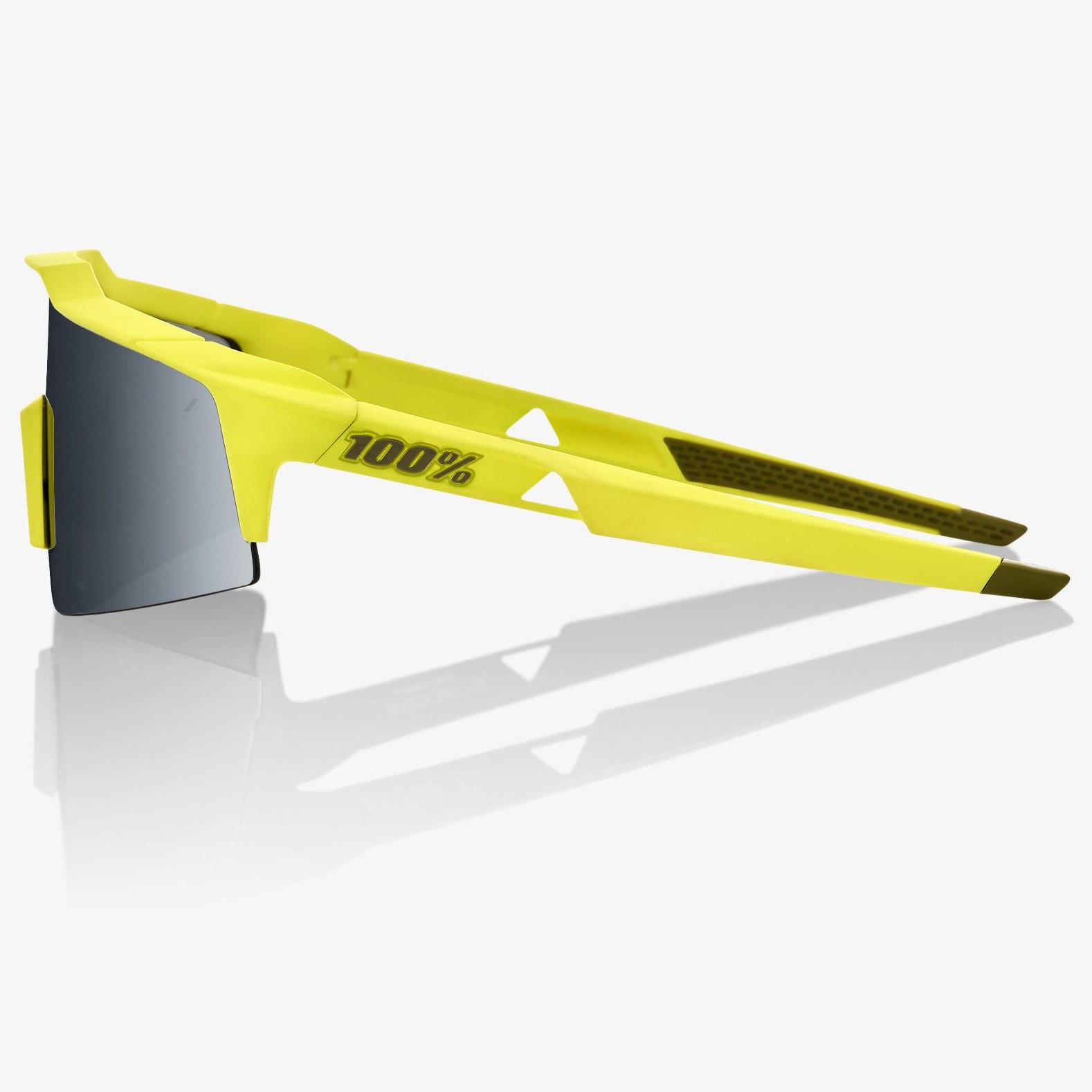 Imagen de 100% Speedcraft Small Smoke Lense - Soft Tact Banana