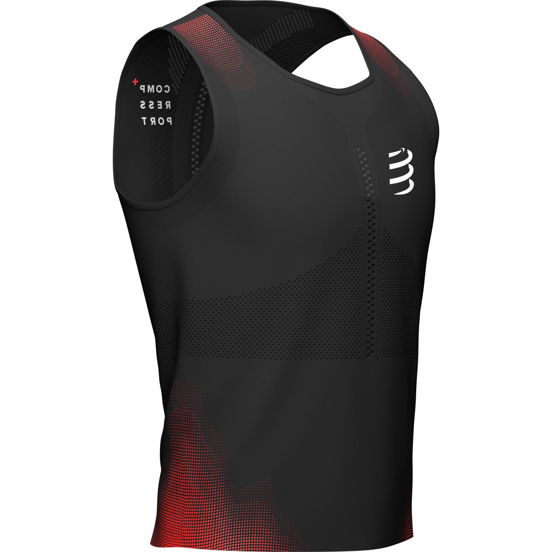 Foto de Compressport Pro Racing Camiseta de tirantes - negra