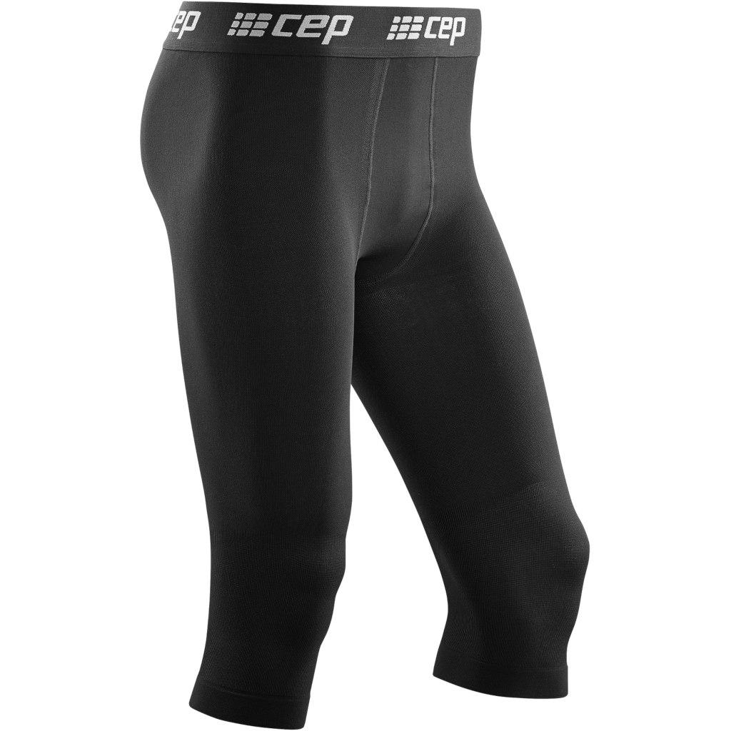 CEP Ski 3/4 Base Tights - black