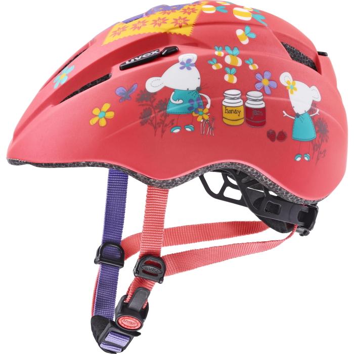 Uvex kid 2 cc Kids Helmet - coral mouse mat