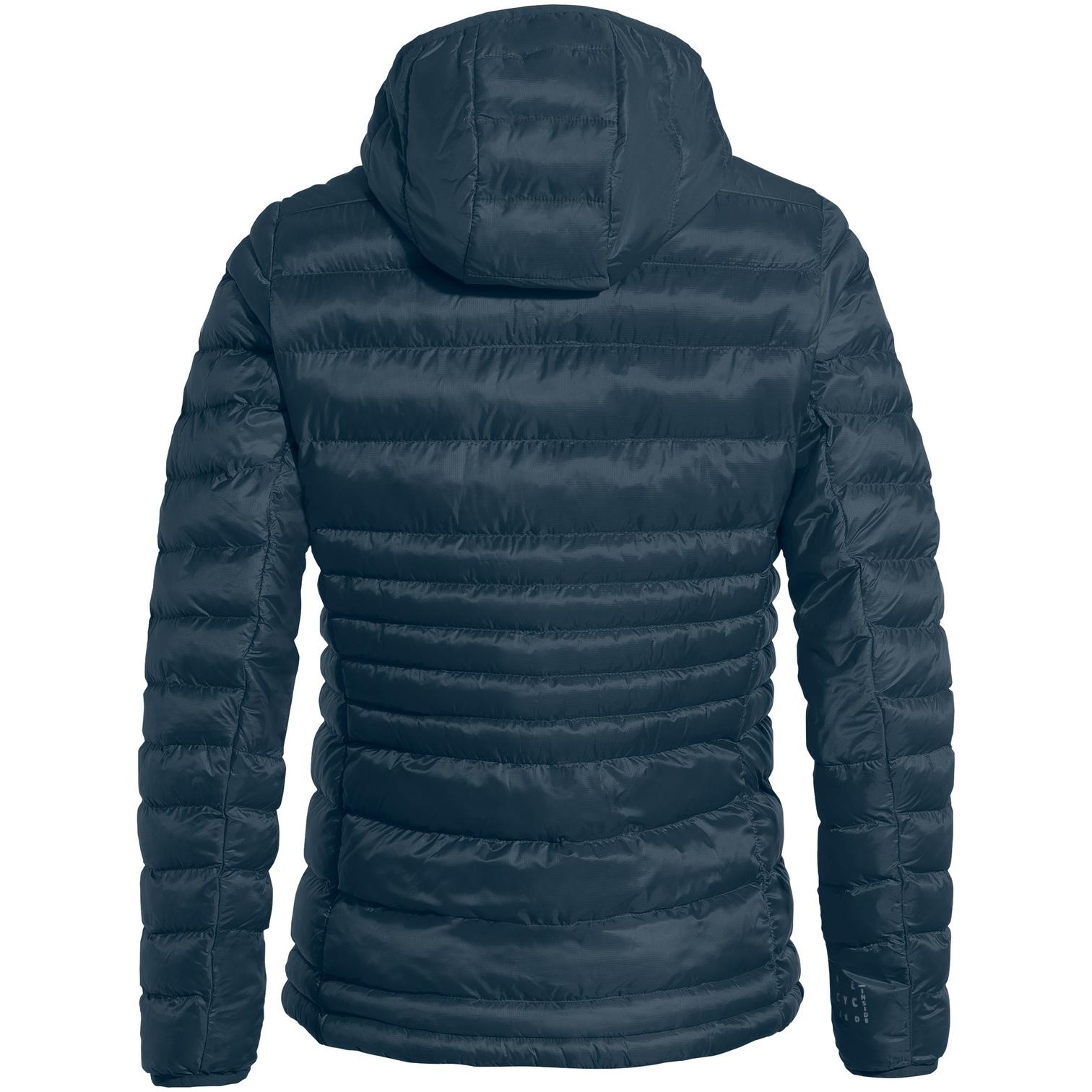 Image of Vaude Women's Batura Hooded Insulation Jacket - dark sea