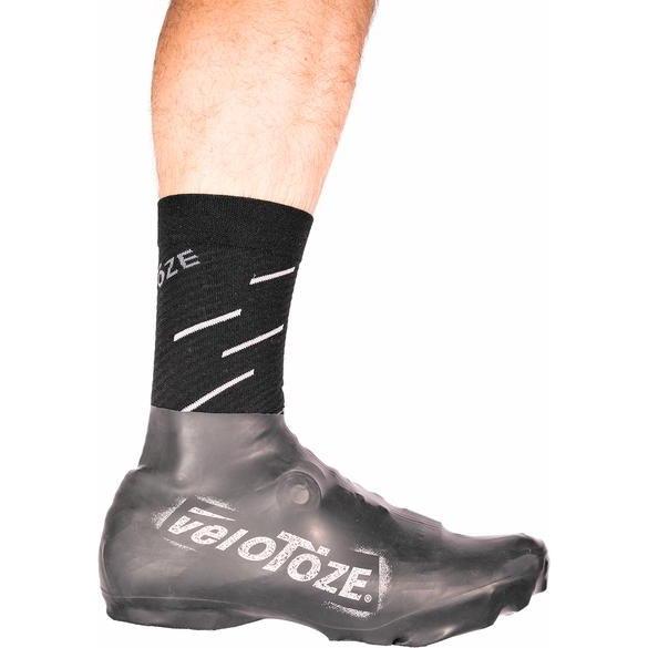 Image of veloToze Short Shoe Cover MTB - black