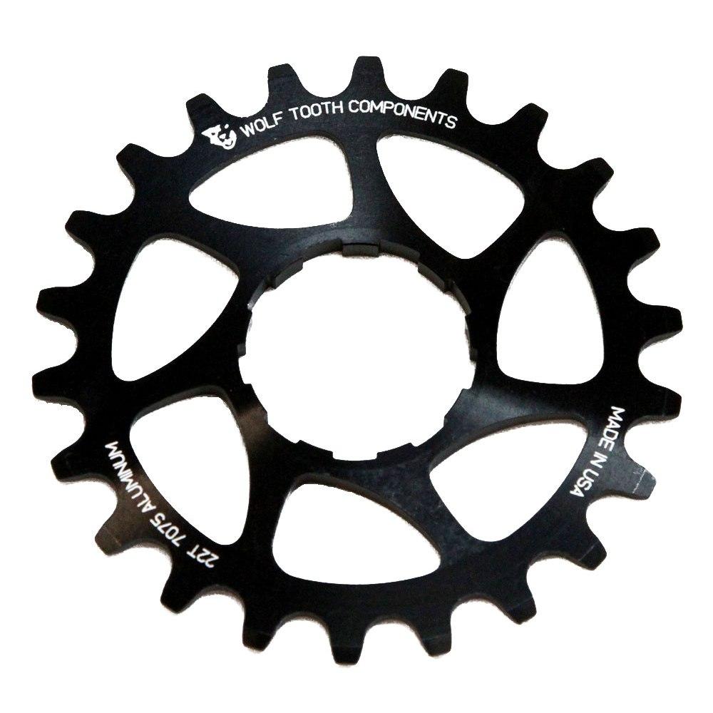 Bild von Wolf Tooth Single Speed Ritzel CNC Aluminium - schwarz