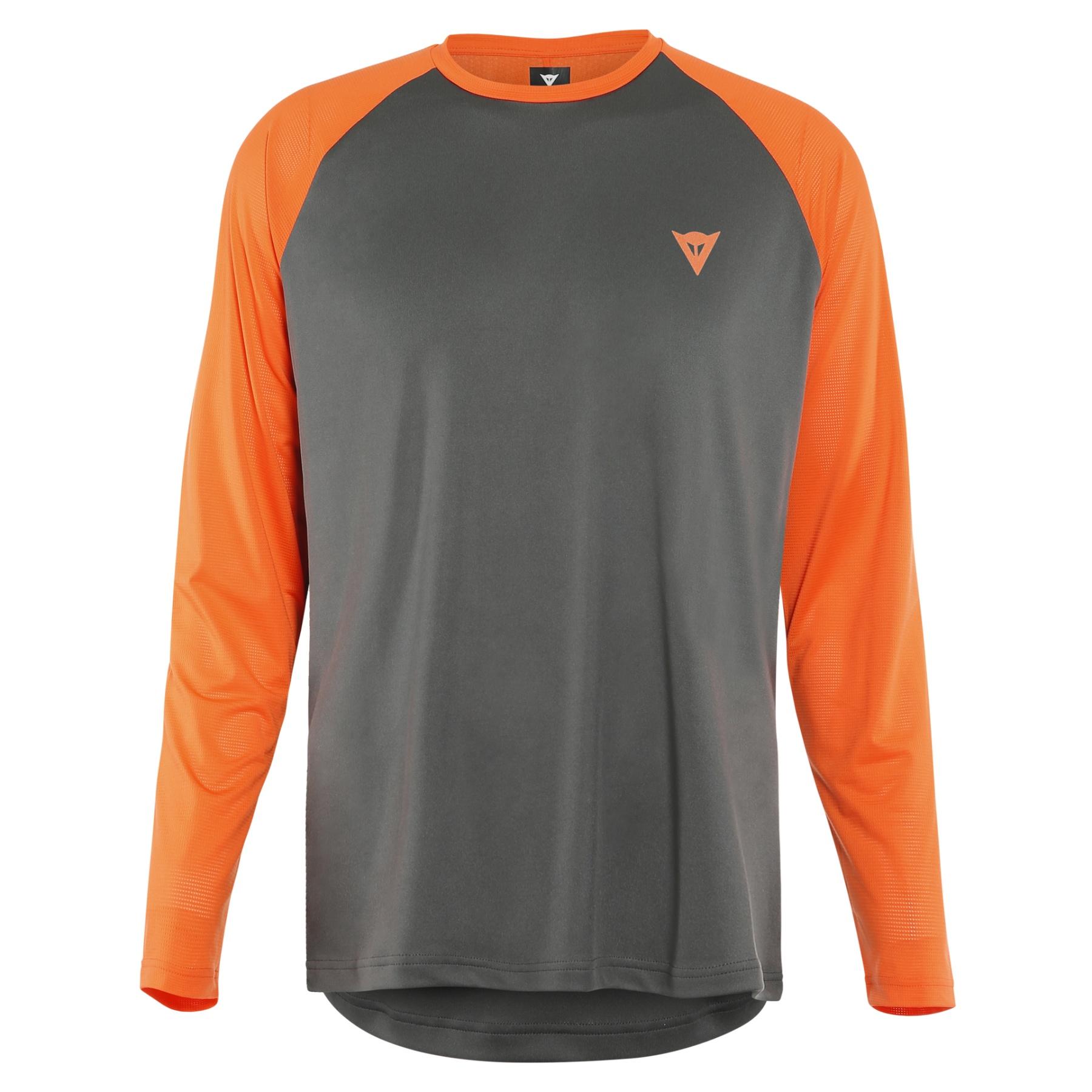 Picture of Dainese HG Tsingy MTB Longsleeve Jersey - dark-gray/orange