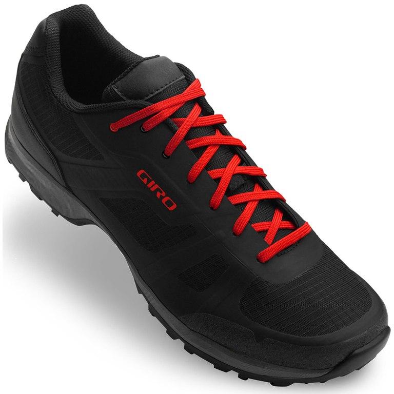 Giro Gauge MTB Schuhe - black/bright red