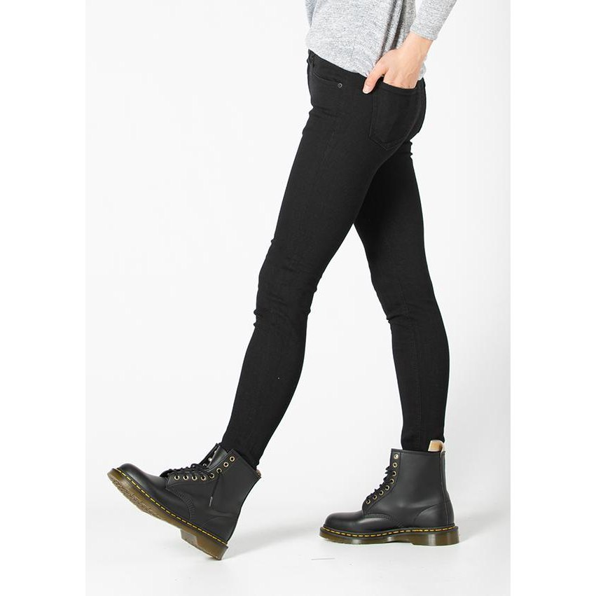 Image of DUER Performance Denim Women Jeans Pants Skinny - L31 - Black 100