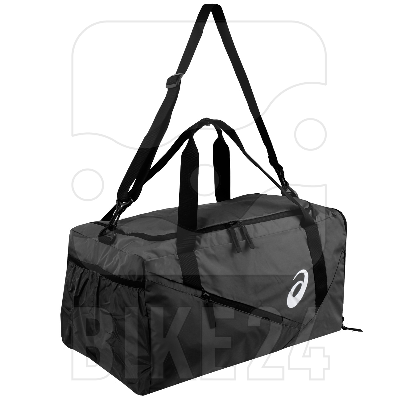 Image of asics Duffle Bag - Medium - performance black