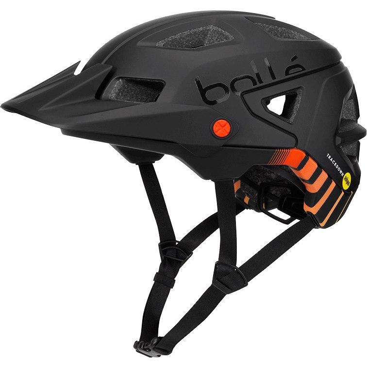 Image of Bollé Trackdown MIPS Helmet - black fire