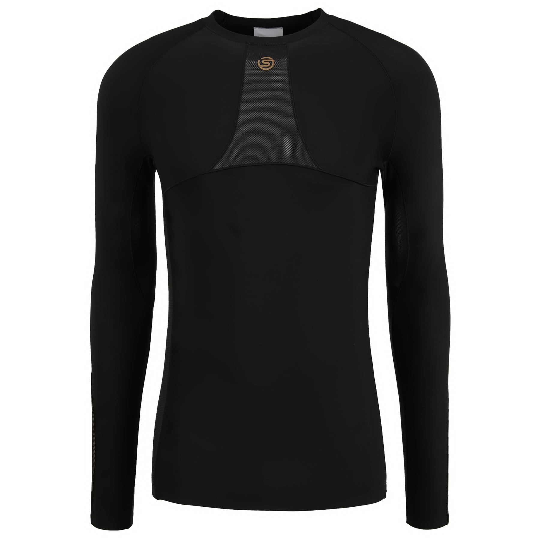 Produktbild von SKINS Compression 5-Series Langarmshirt - Schwarz