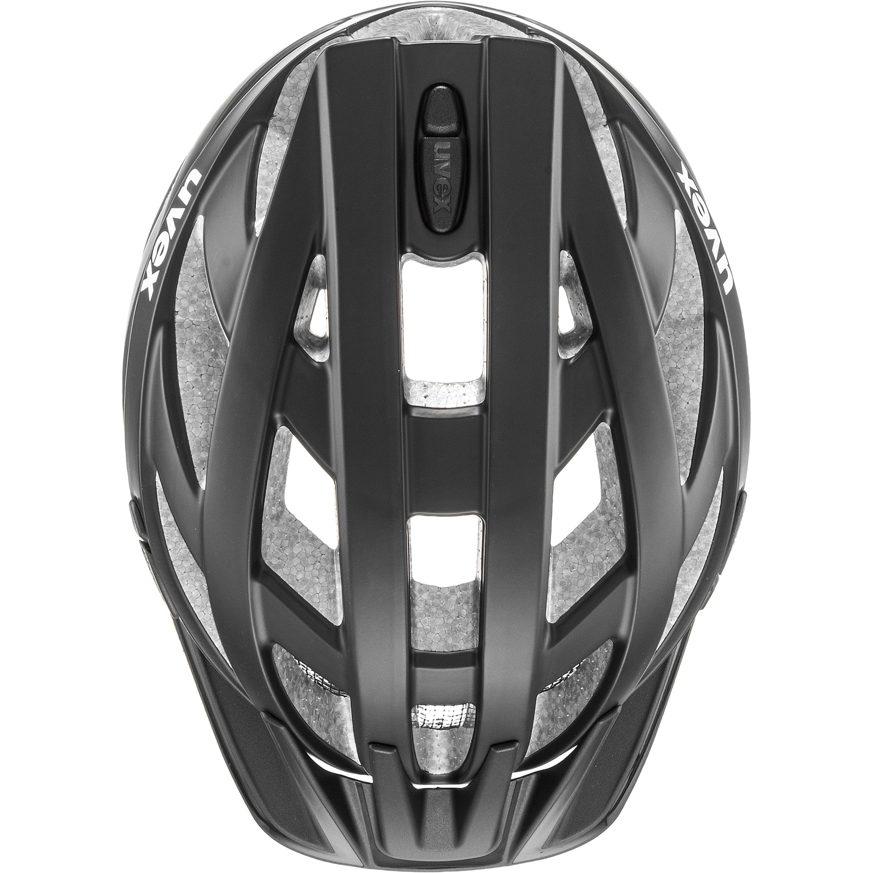 Image of Uvex i-vo cc Helmet - black-smoke mat