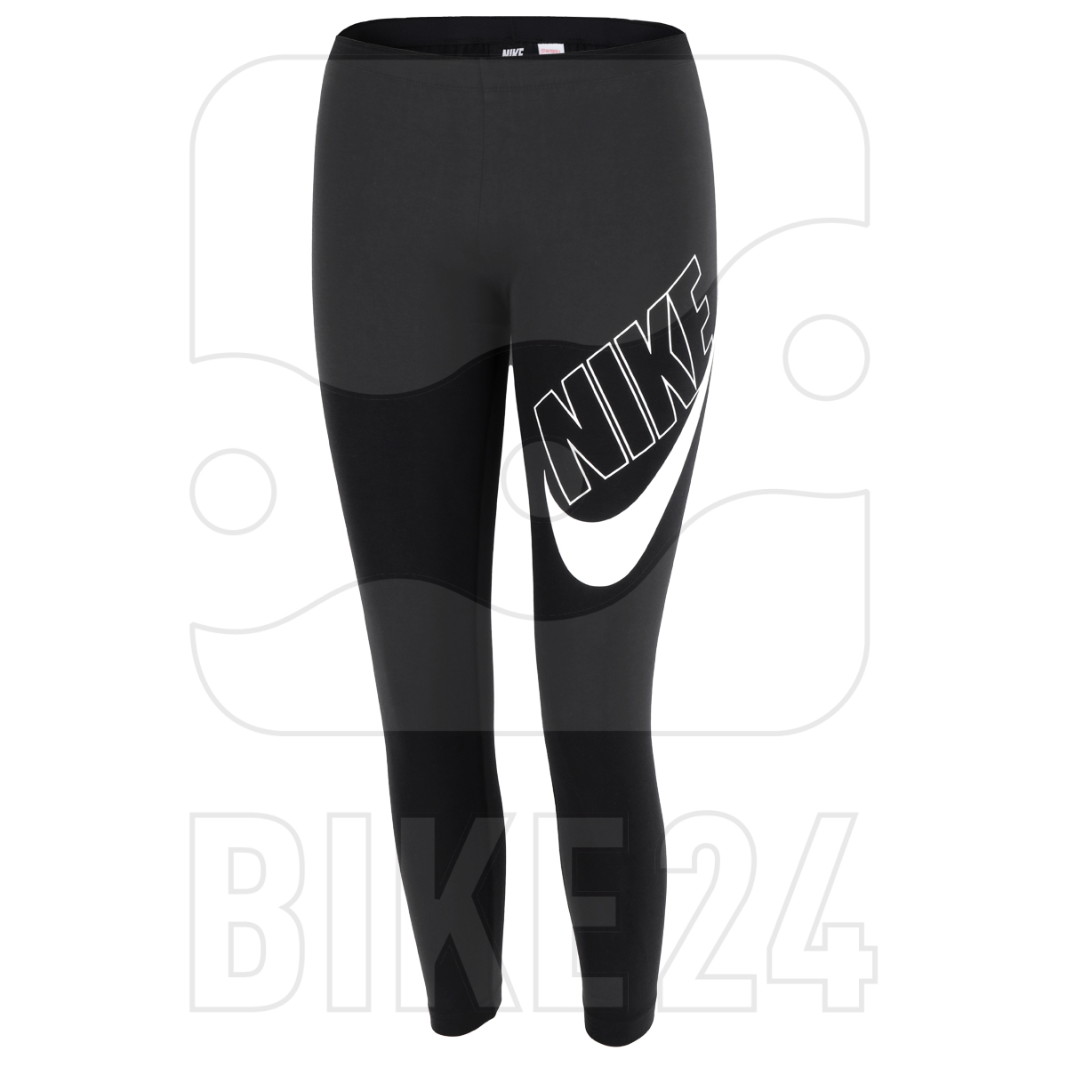 Nike Sportswear Air Favorites Graphics Mädchen-Leggings - black/white CU8943-010