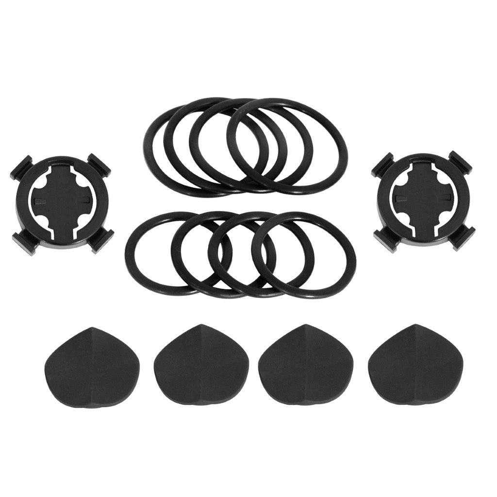 Bryton Bike Mount for Rider 100 / 310 / 330 / 410 / 530 (2 Pcs) - black