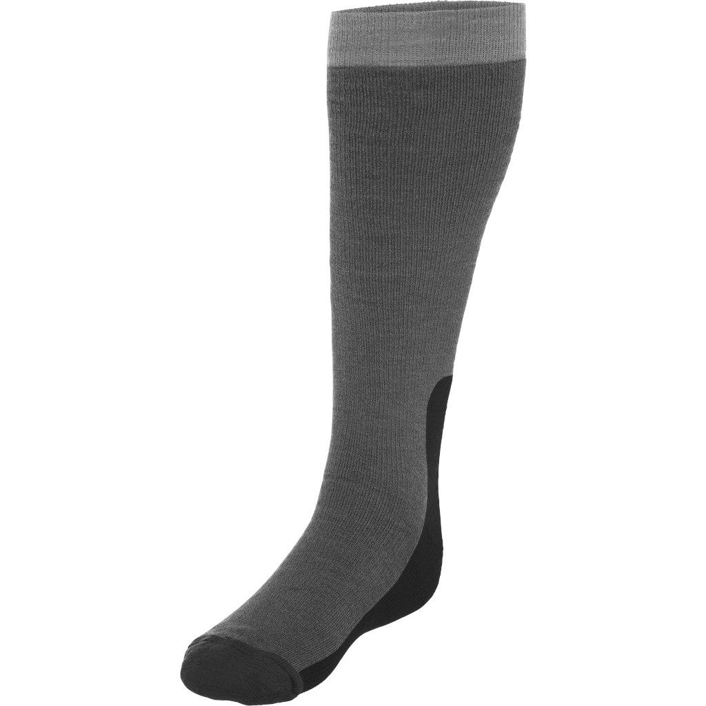 Norrona tamok heavy weight Merino Socks long - Caviar