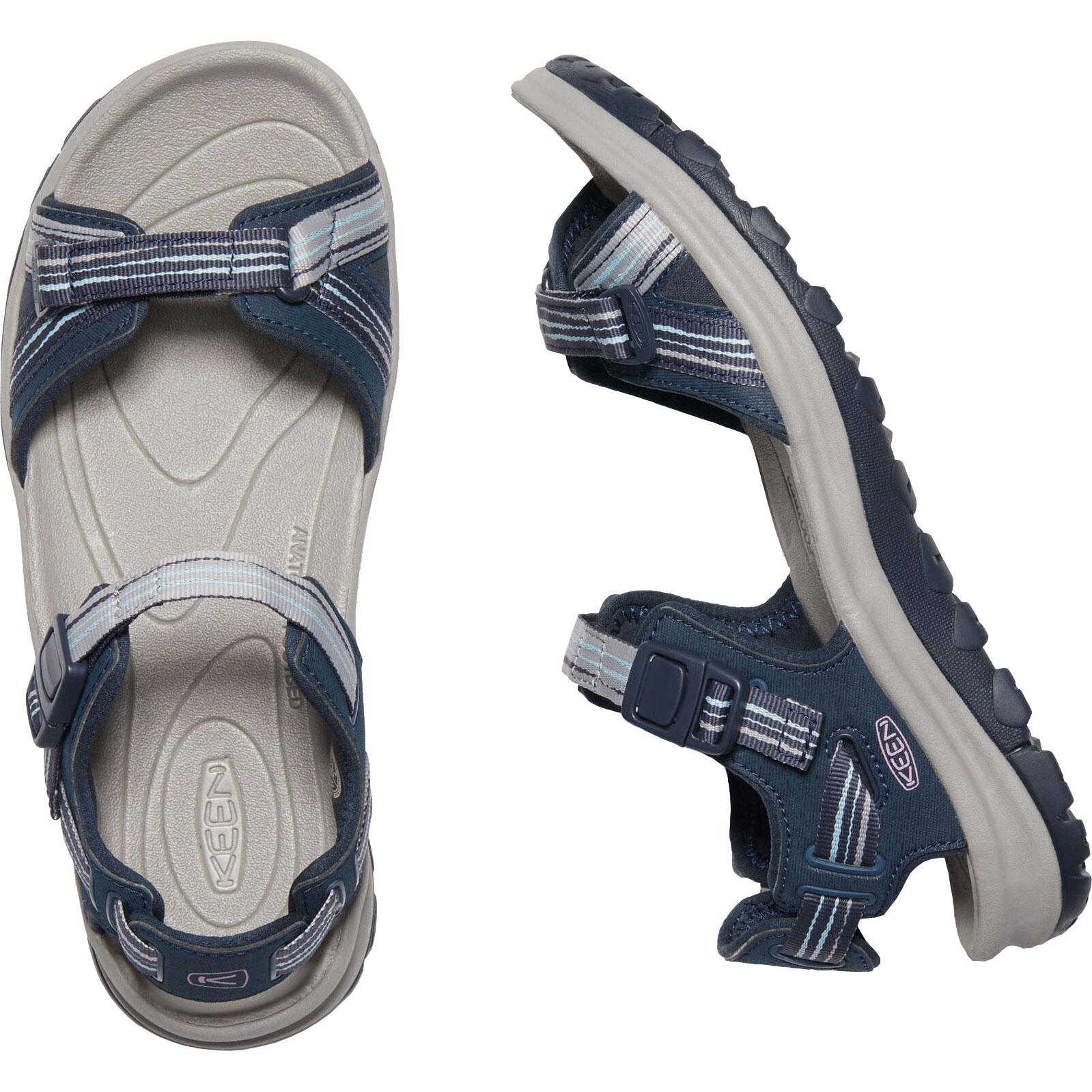 Bild von KEEN Terradora II Open Toe Damen-Sandale - Navy / Light Blue
