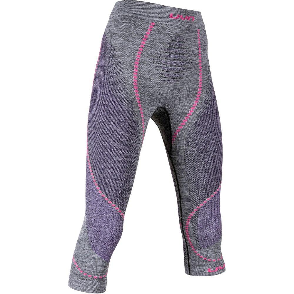UYN Ambityon Underwear 3/4 Pants Women - Black Melange/Purple/Raspberry