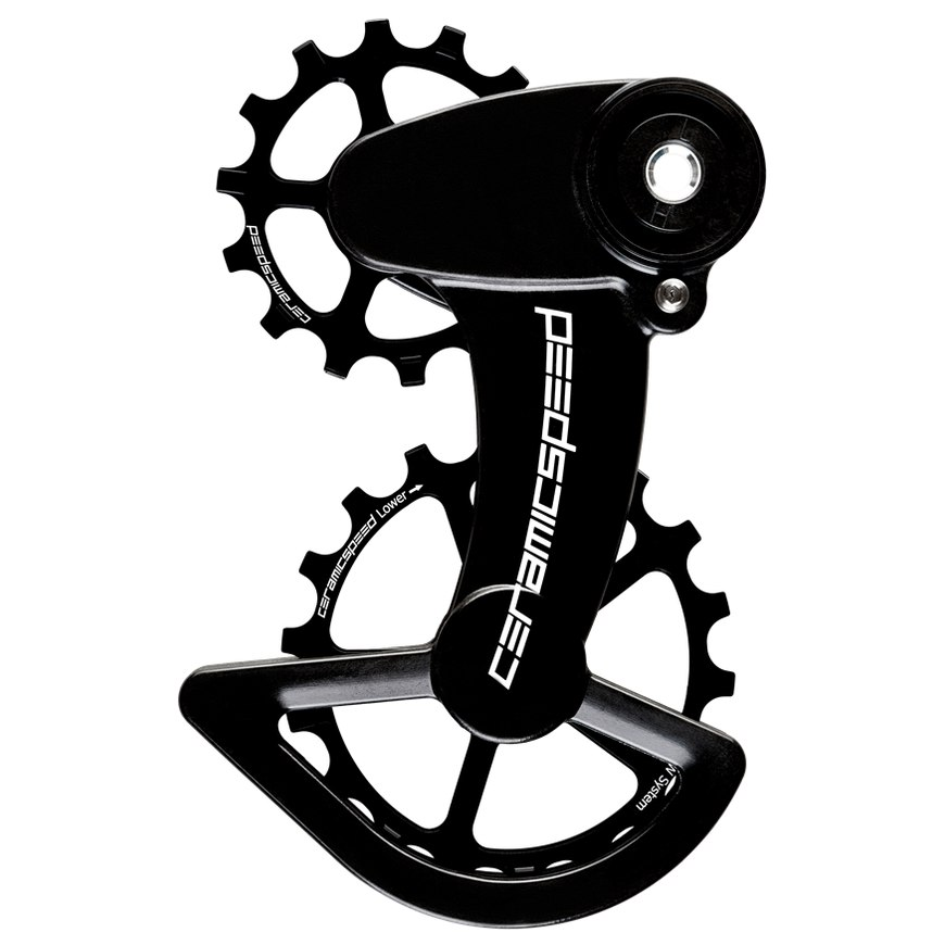 Image of CeramicSpeed OSPW X Coated Pulley Wheels for SRAM 1x11-speed - black