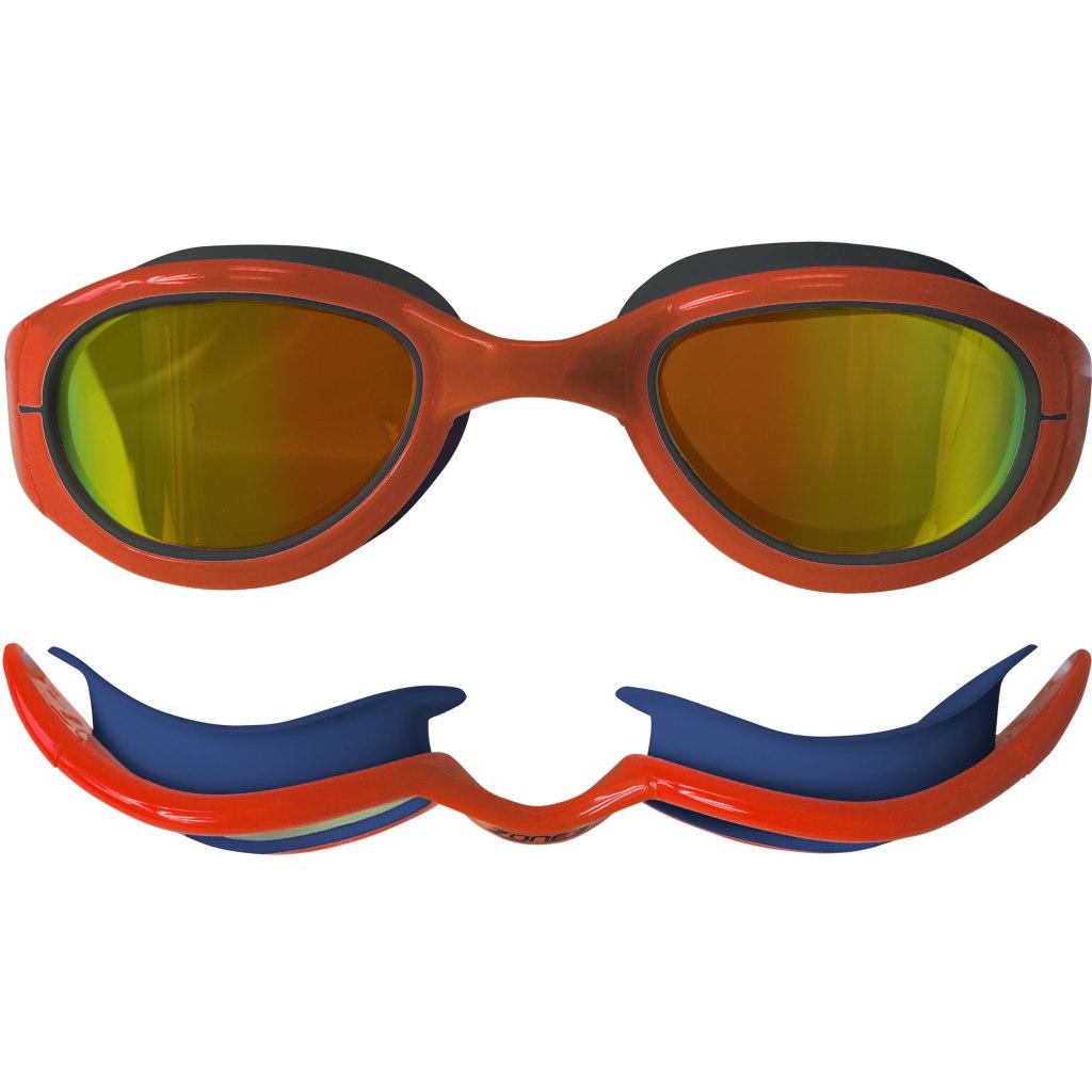 Bild von Zone3 Attack Goggles - Polarised Schwimmbrille - navy/hi-vis orange