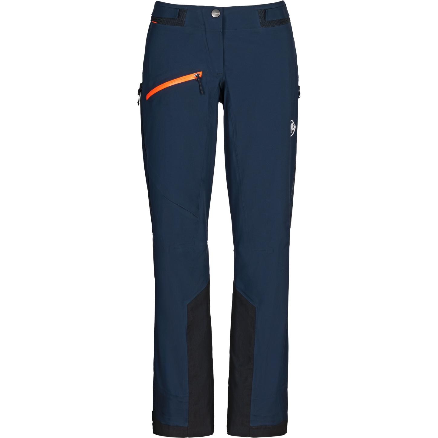 Mammut Aenergy Air Hardshell Pantalones para Mujeres - marine
