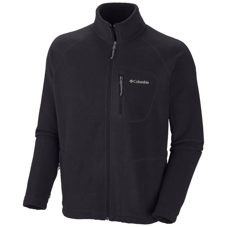 Columbia Fast Trek II Full Zip Fleece Jacket - Black
