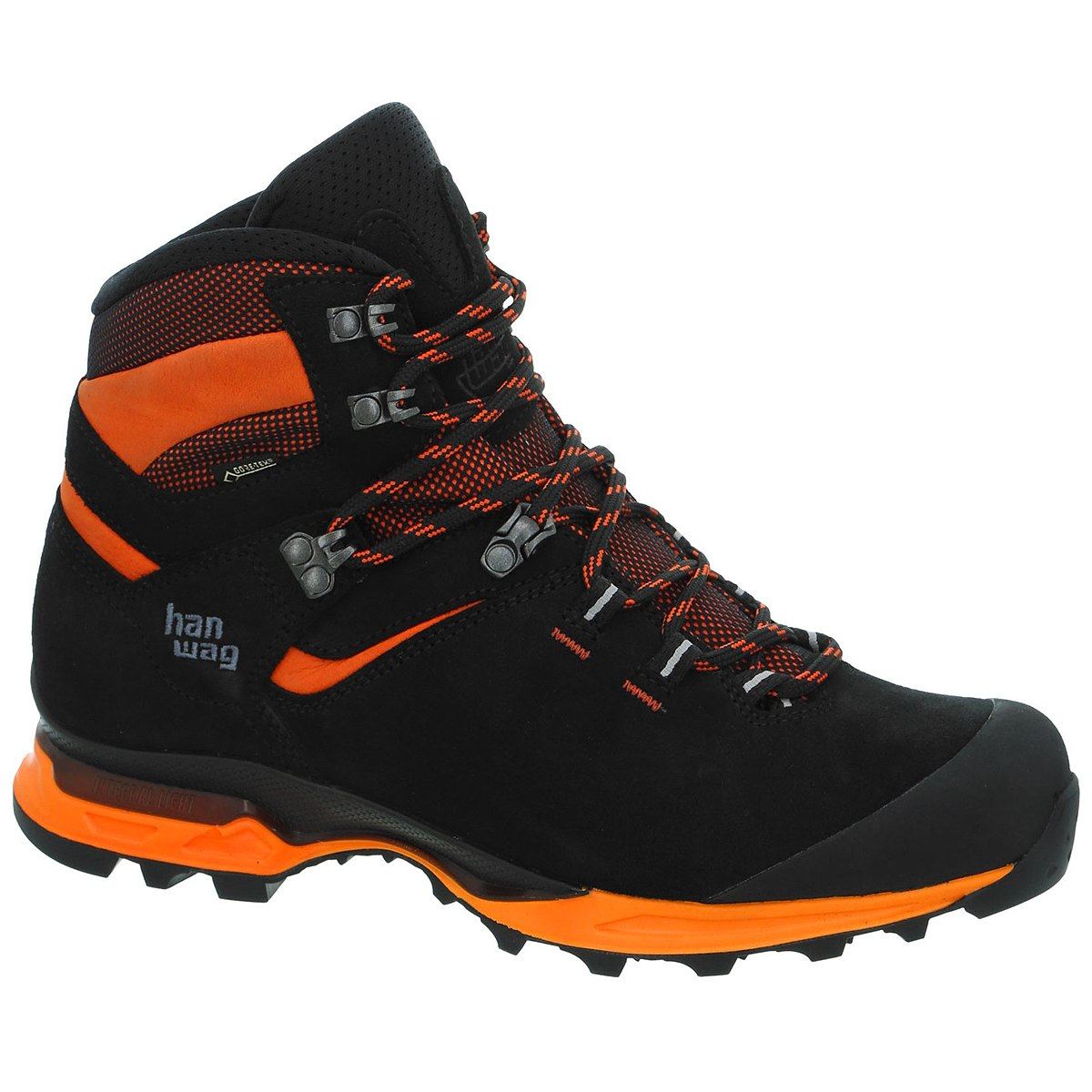 Hanwag Tatra Light GTX Shoe - Black/Orange