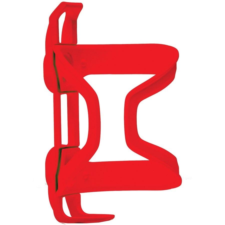 Blackburn WAYSIDE Side Entry MTB Bottle Cage - red