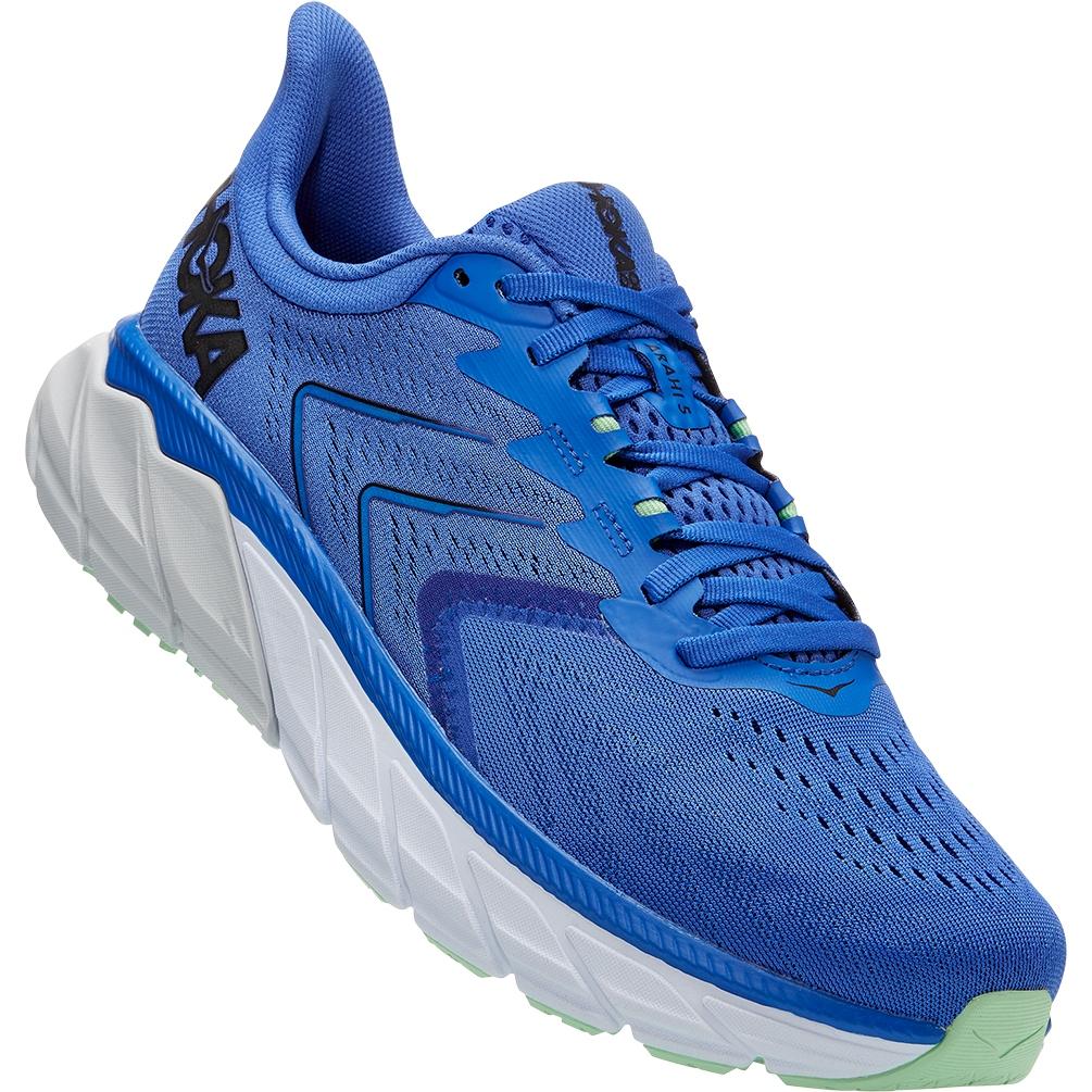 Hoka One One Arahi 5 Zapatillas para correr - dazzling blue / black