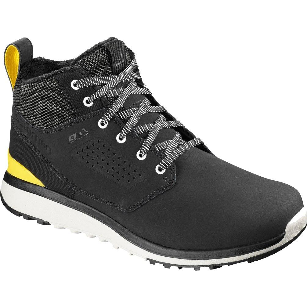 Produktbild von Salomon Utility Freeze Climasalomon™ Waterproof Winterschuhe - black/black/empire yellow