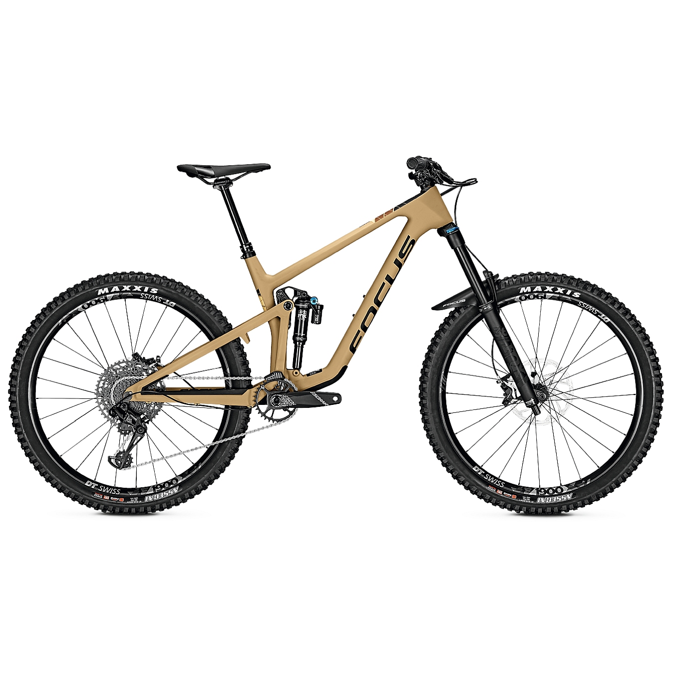 FOCUS SAM 9.9 - 27.5 Inches Carbon Mountainbike - 2022 - Sand Brown Matt