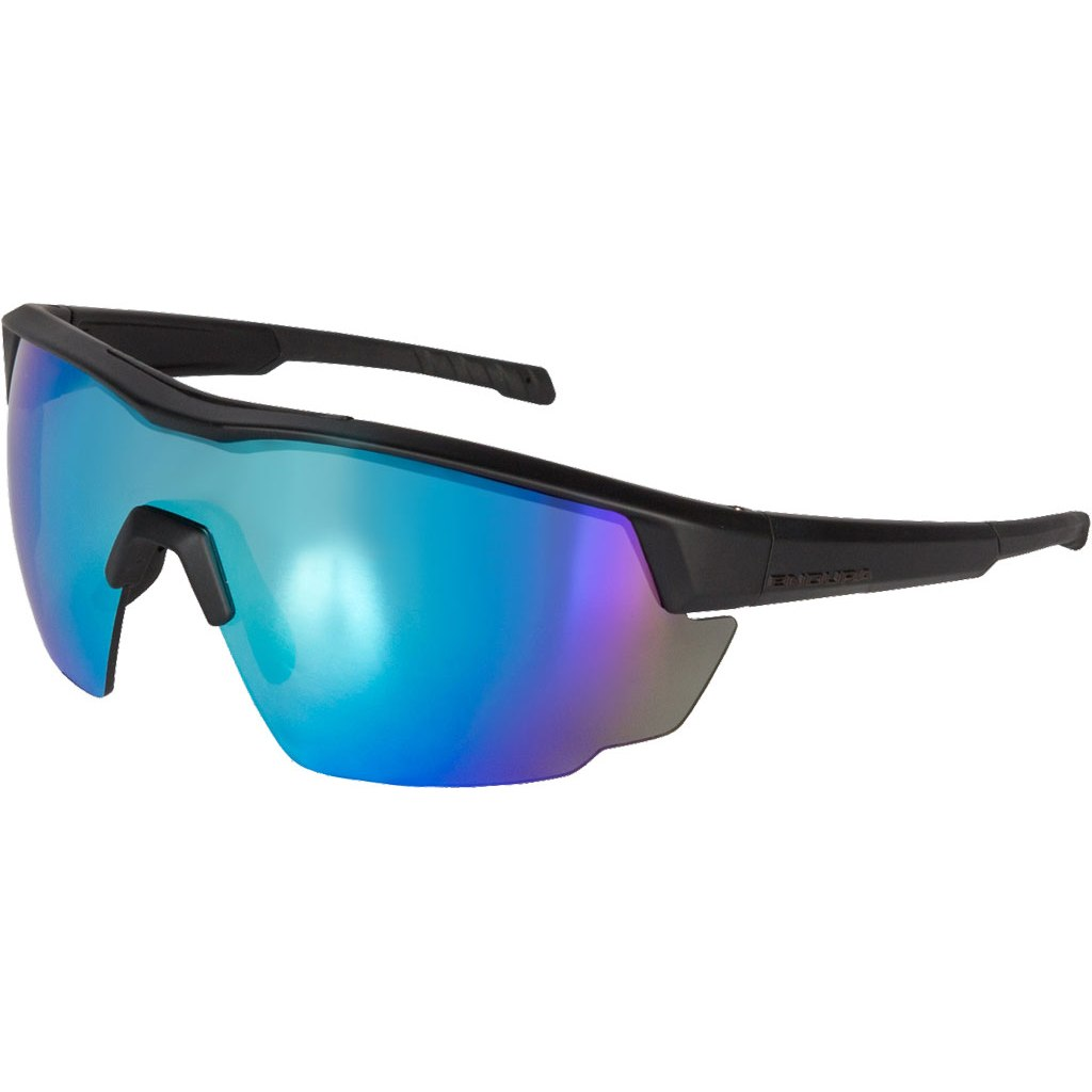 Endura FS260-Pro Glasses - black/blue REVO/orange/smoke