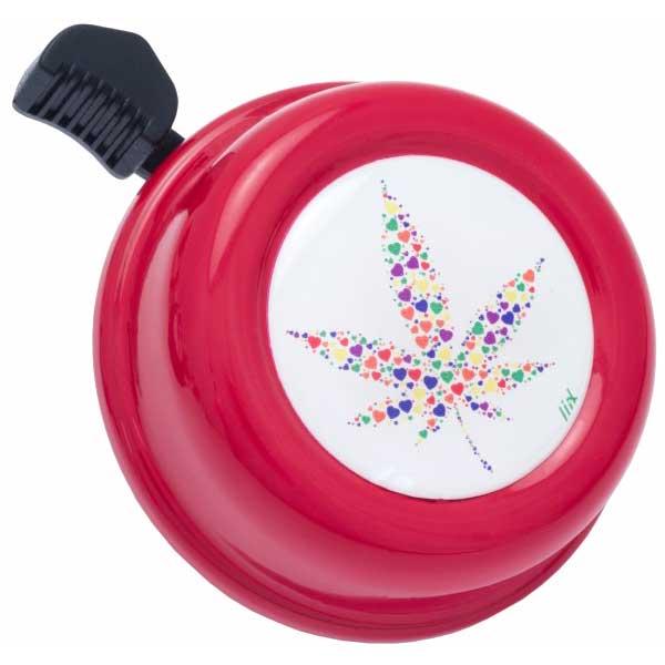Liix Colour Bell Fahrradklingel - Legal Hearts Red