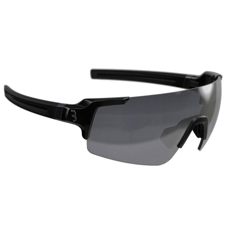BBB Cycling Fullview BSG-63 glossy black | smoke MLC + clear + yellow Glasses