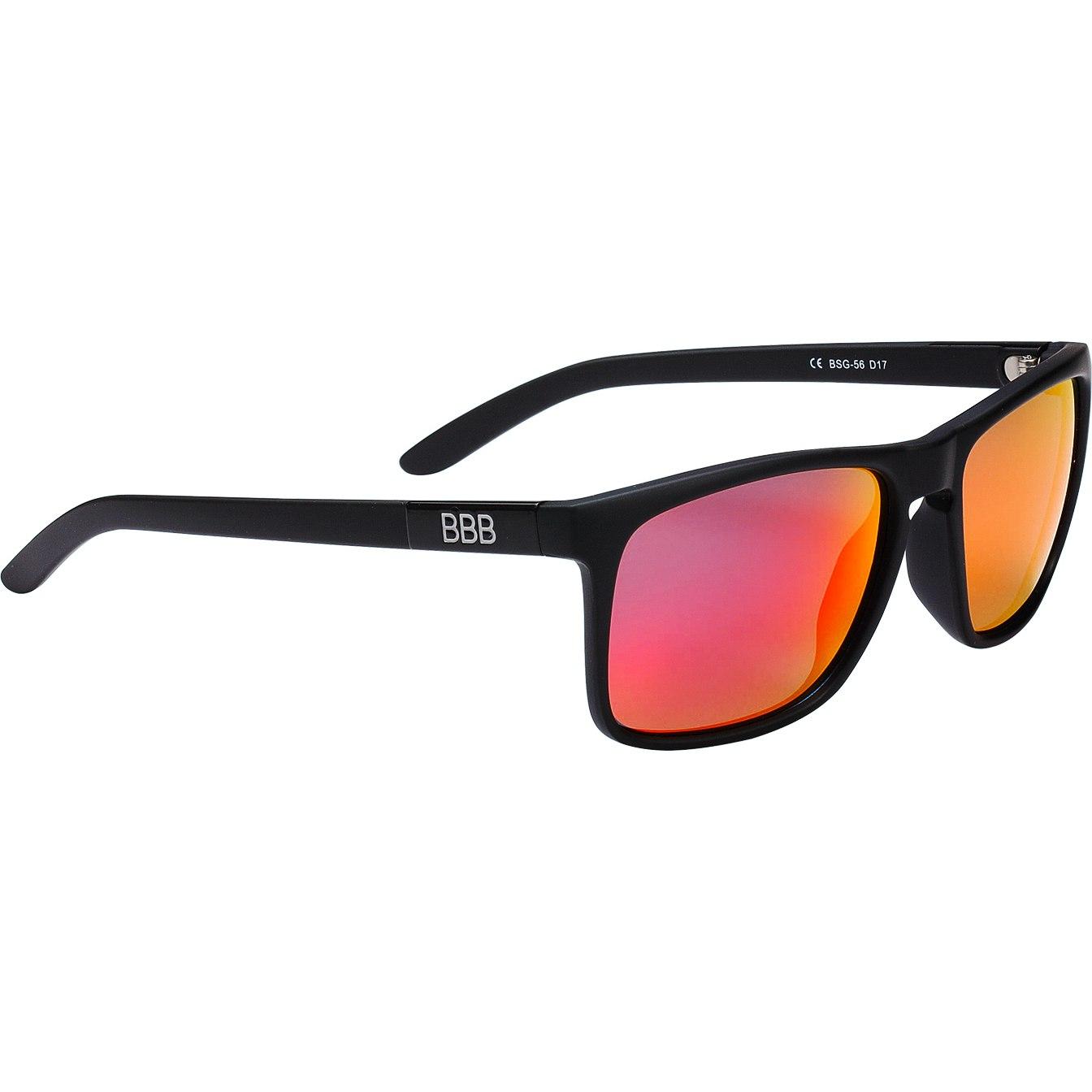 BBB Cycling Town BSG-56 Matt Black | Polarized Red MLC Glasses