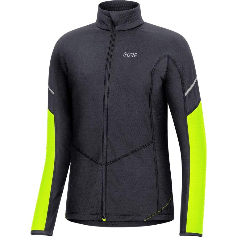 Produktbild von GORE Wear M Damen Thermo Zip Shirt langarm - black/neon yellow 9908