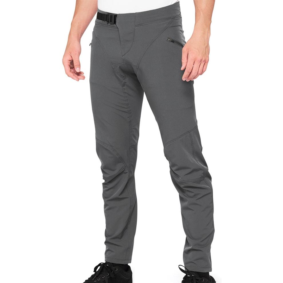 100% Airmatic Pantalones - charcoal