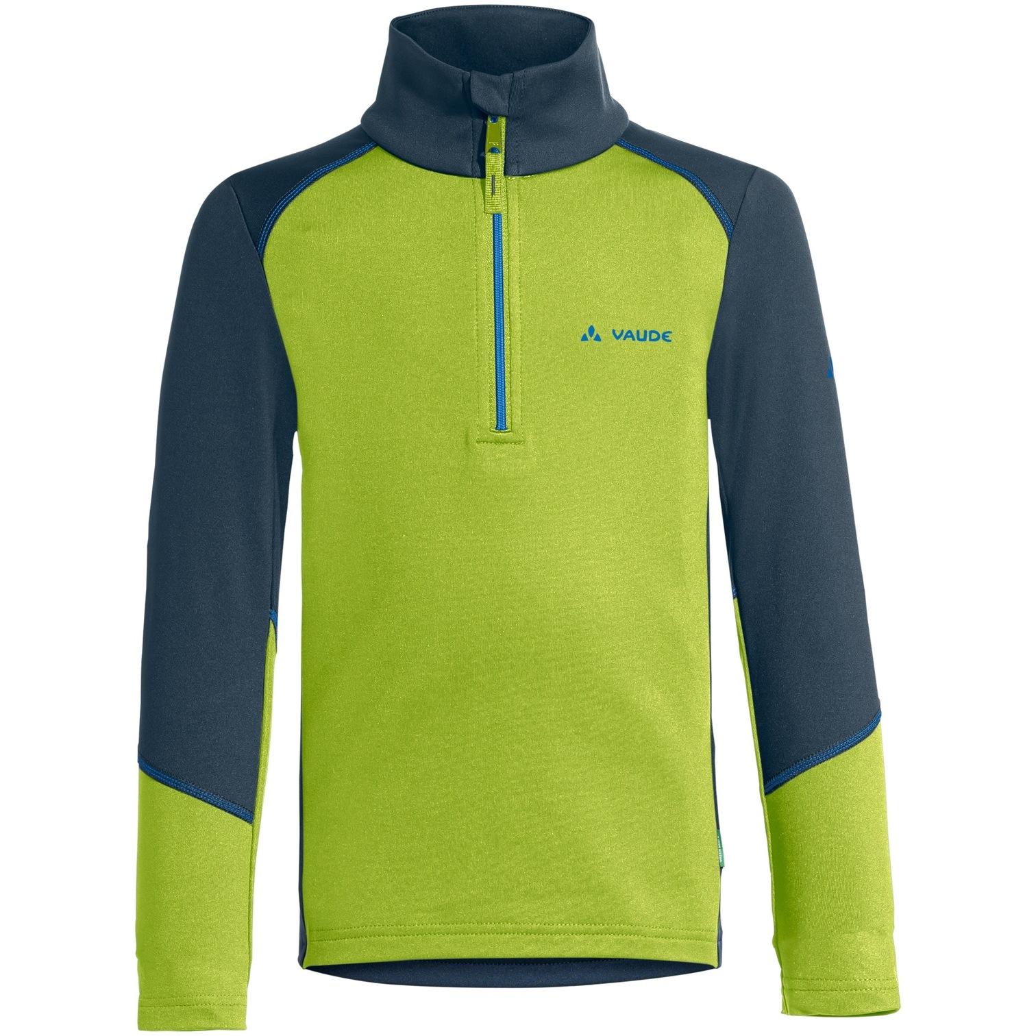Vaude Kids Livigno Halfzip Pullover - chute green