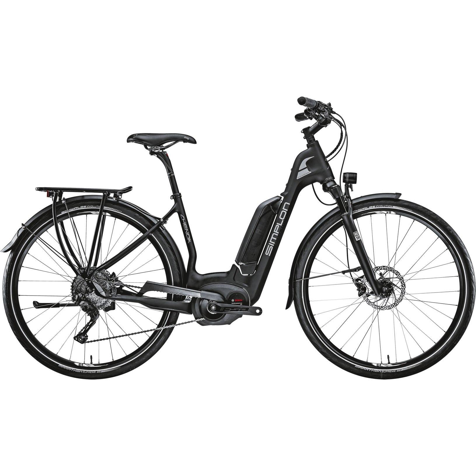 Simplon CHENOA UNI Deore Damen E-Bike - 2021 - carbon matt