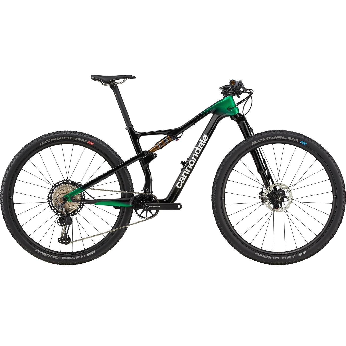 "Cannondale SCALPEL Hi-MOD CARBON 1 - 29"" Mountainbike - 2021 - Team Replica Carbon / Cannondale Green"
