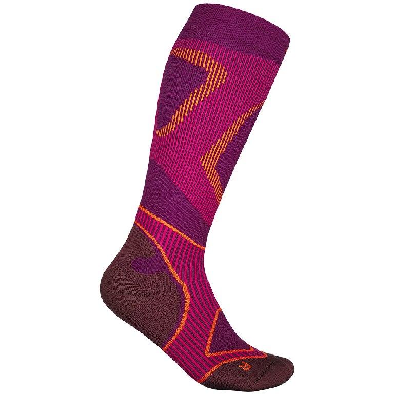 Bauerfeind Run Performance Women's Compression Socks - pink