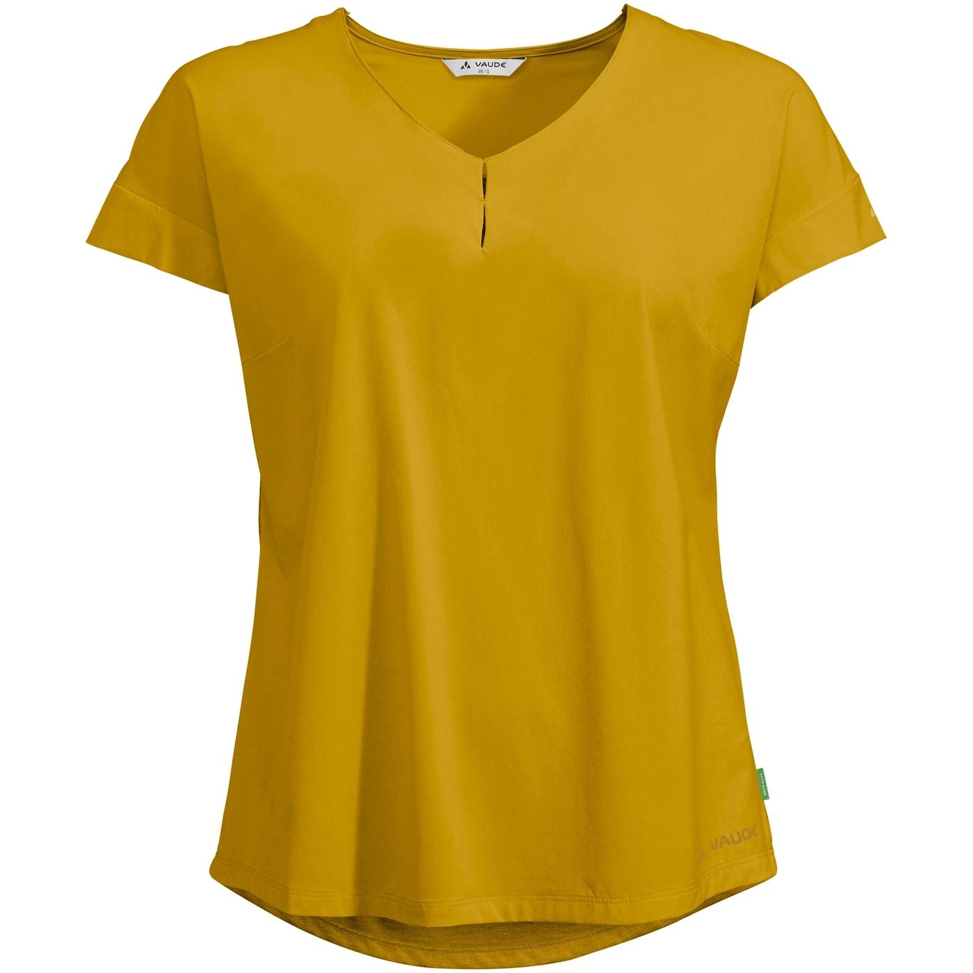 Vaude Skomer V-Neck Damen T-Shirt - marigold