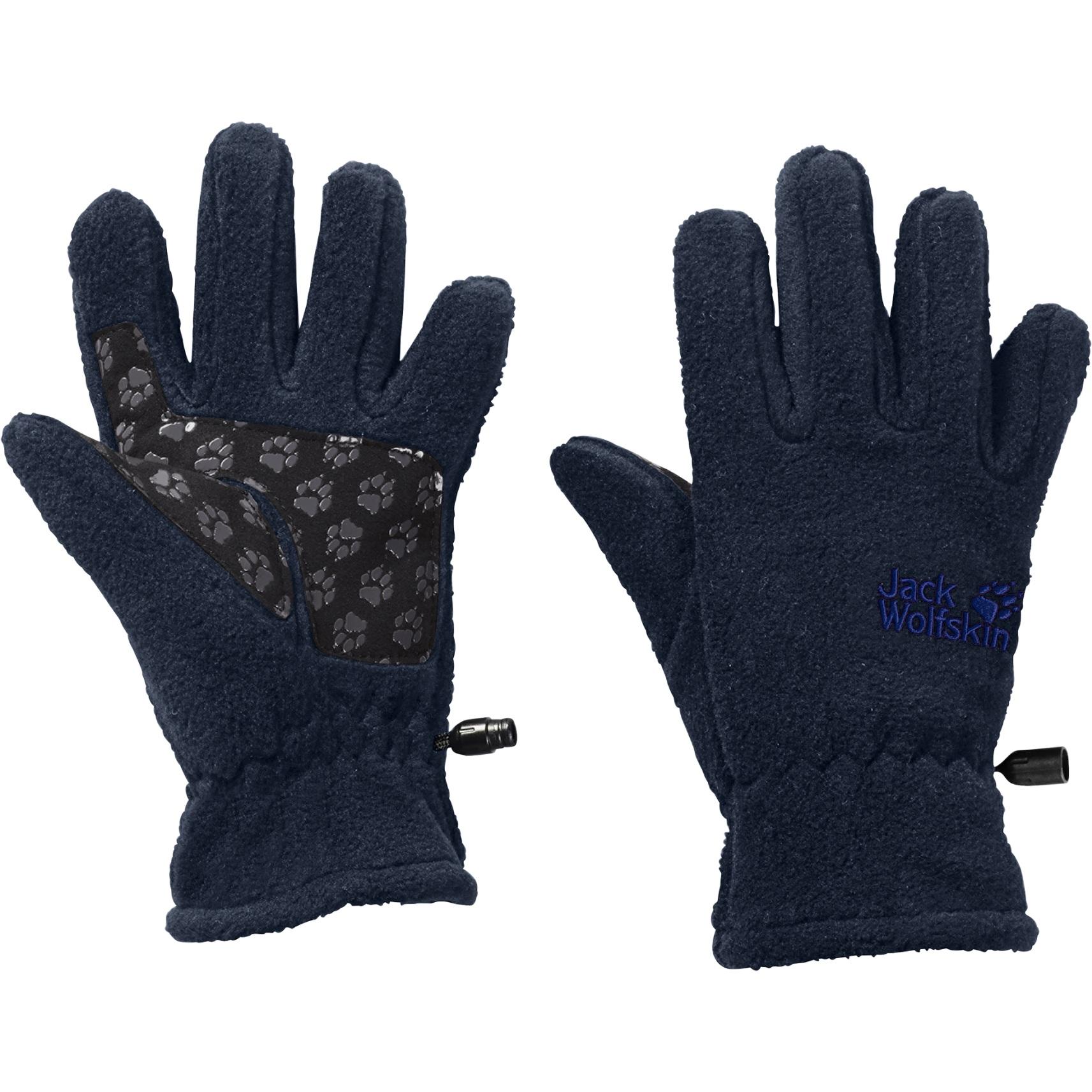 Jack Wolfskin Fleece Kinder Handschuhe - midnight blue