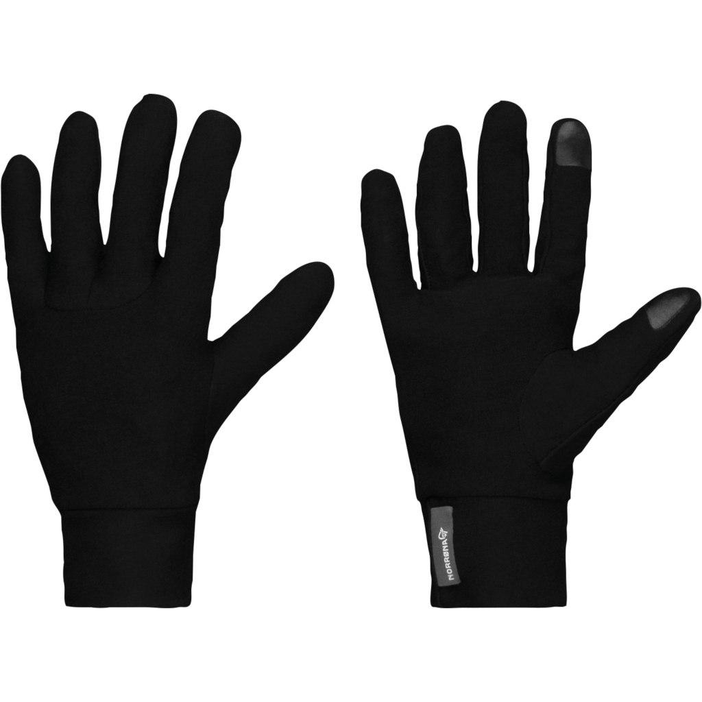 Norrona /29 Merino Wool Liner Gloves - Caviar