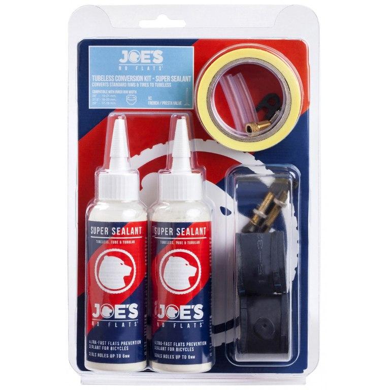 Joe's No Flats Tubless Conversion Kit - Super Sealant