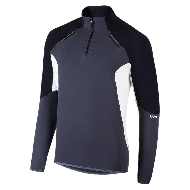 UYN Man Evolutyon Half Zip Jacket - Charcoal/Black/Pearl Grey