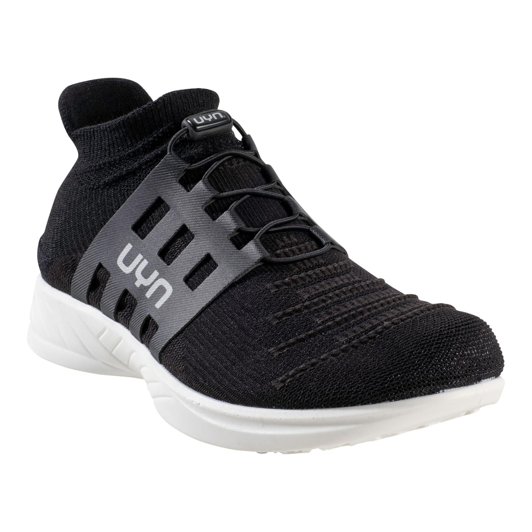 UYN X-Cross Tune Lady Running Shoes - Optical Black/Black