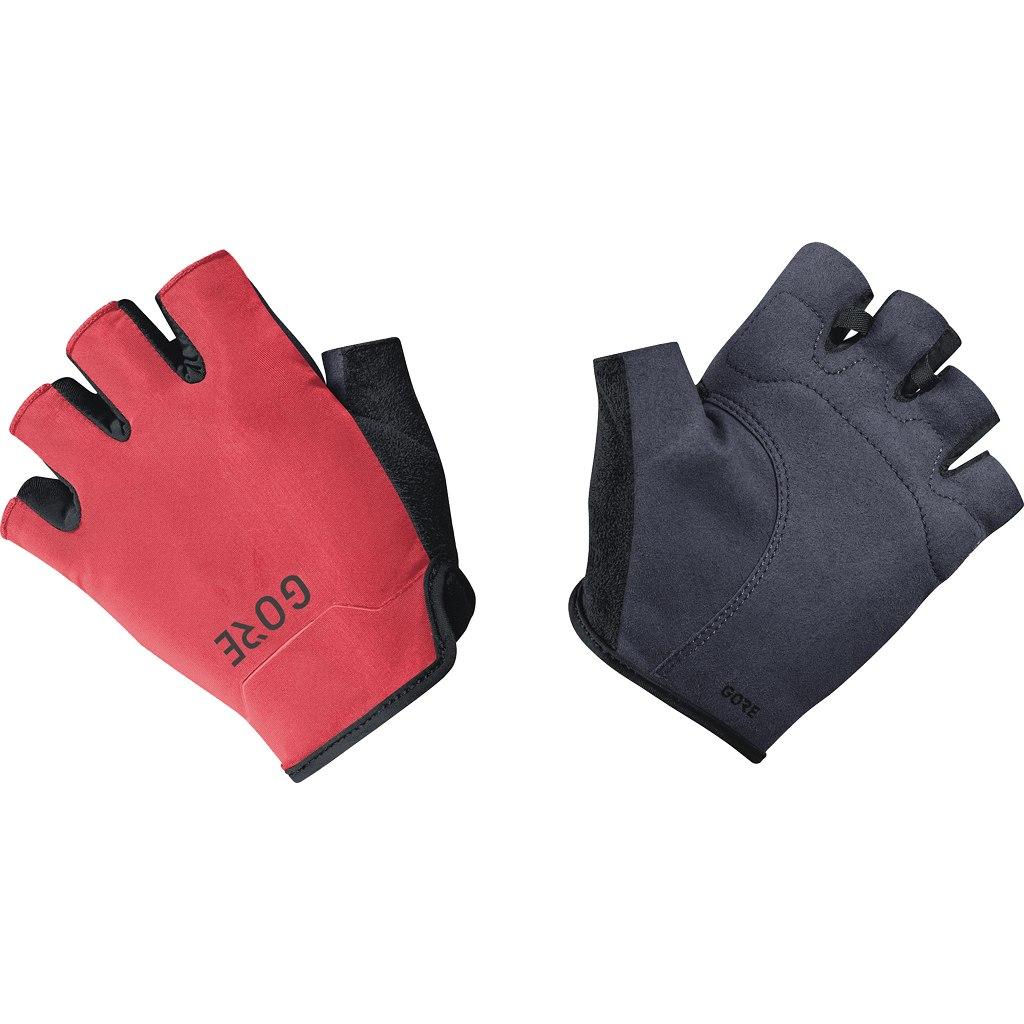 GORE Wear C3 Short Finger Gloves - black/hibiscus pink 99AK