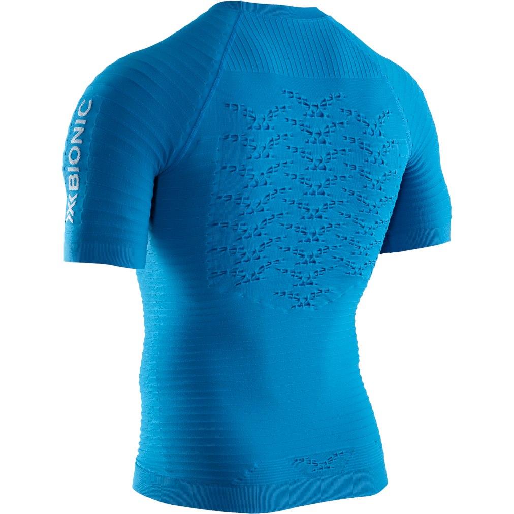 Bild von X-Bionic Effektor 4.0 Run Kurzarm-Laufshirt für Herren - teal blue/dolomite grey