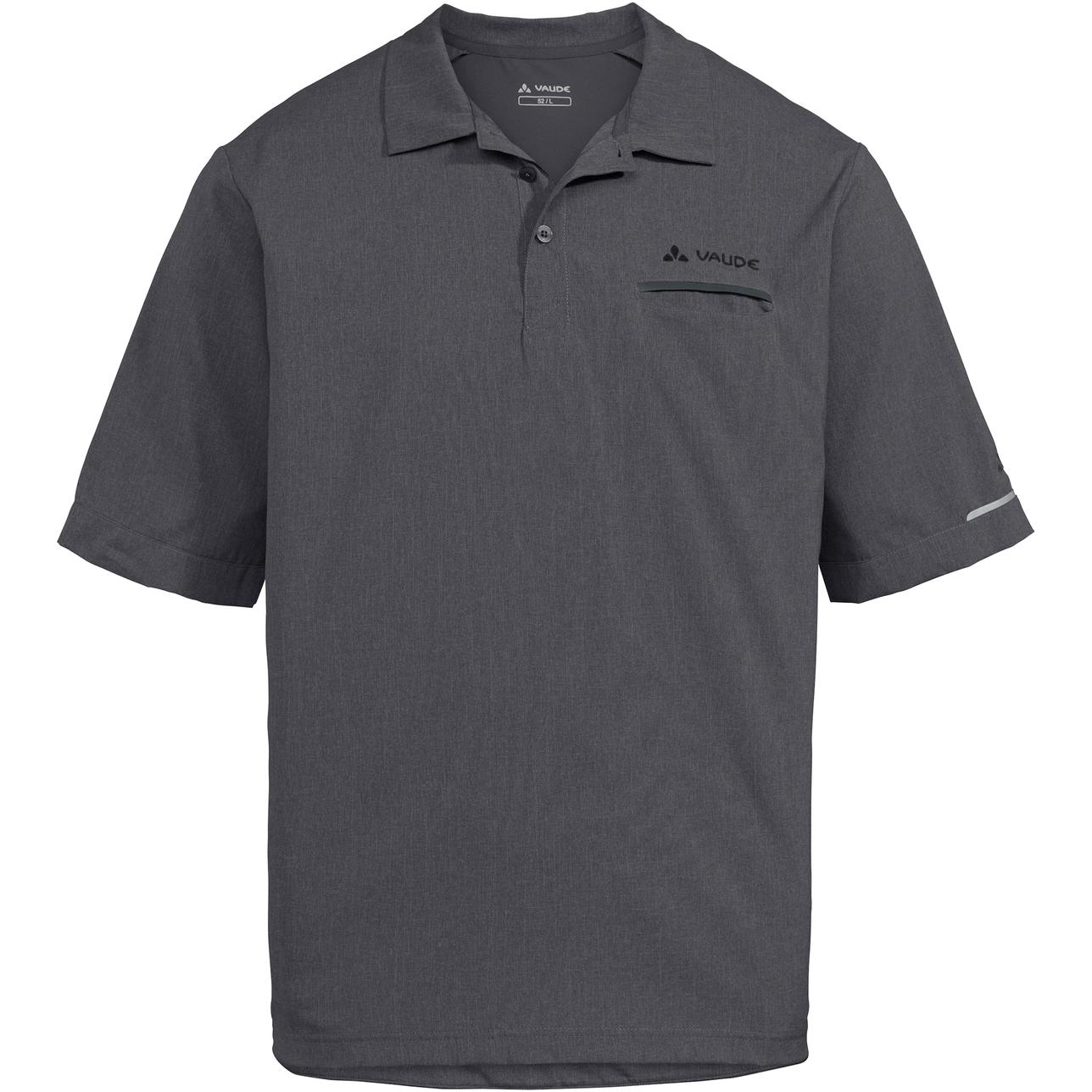 Vaude Turifo Poloshirt - iron