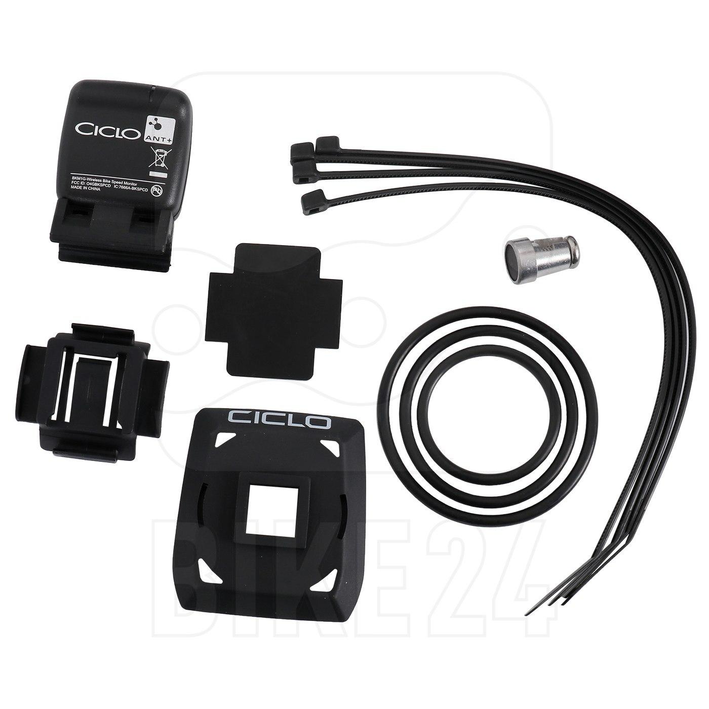 Ciclosport QMS Handlebar bracket / Speed sensor Set for HAC 1.x 11302400